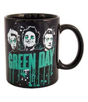 Green Day Mug (Black)