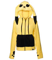 Cupcake Cult Striker Pika Hoodie (Yellow)