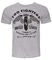 Foo Fighters Nothing To Lose T Shirt (Grey)