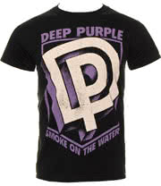Deep Purple Smoke T Shirt (Black)