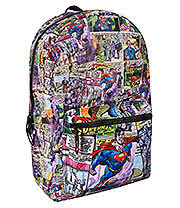 Superman Fly Backpack (Multi Coloured)