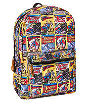 Superman Comic Backpack (Multi Coloured)
