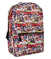 Batman Comic Backpack (Multi Coloured)