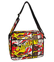 DC Comics The Flash Messenger Bag (Multi Coloured)