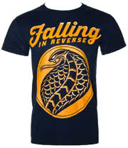 Falling In Reverse Cobra T Shirt (Navy)