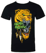 Falling In Reverse Lions Head T Shirt (Black)