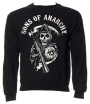 Sons Of Anarchy Logo Sweatshirt (Black)