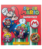 Nintendo Super Mario Badge Pack