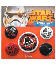 Star Wars Dark Side Badge Pack
