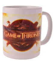 Game Of Thrones Logo Mug (White)