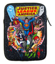 Justice League Retro Comic Neoprene Tablet Sleeve (10