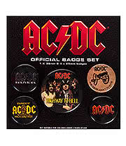 AC/DC Badge Pack