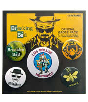 Breaking Bad Los Pollos Badge Pack