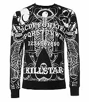 Kill Star Boardgame Sweatshirt (Black)