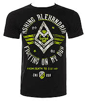 Asking Alexandria Fight T Shirt (Black)