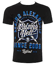 Asking Alexandria Raising Hell T Shirt (Black)