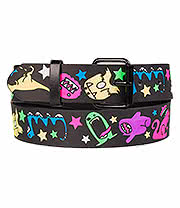 Blue Banana Monsters Belt