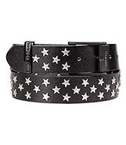 Blue Banana Studded Stars Belt