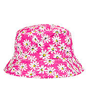 Blue Banana Daisy Canvas Festival Hat (Pink)