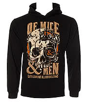Of Mice & Men Skeletons Hoodie (Black)
