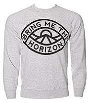 Bring Me The Horizon Eye Sweatshirt (Grey)