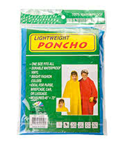 Blue Banana Lightweight Poncho 45