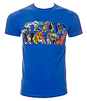 Star Wars Comic Logo T Shirt (Blue)