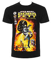 Star Wars Boba Fett T Shirt (Black)