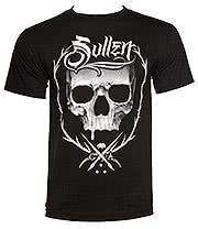 Sullen Throne Badge T Shirt (Black)