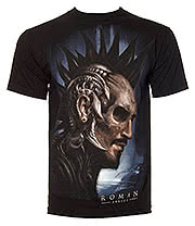 Sullen Roman Iron T Shirt (Black)