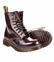 Dr Martens Arcadia 8 Hole Boot (Red)
