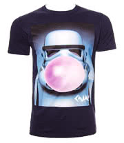 Chunk Clothing Star Wars Stormtrooper Bubble T Shirt (Navy)