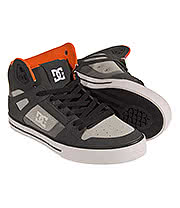 DC Shoes Spartan Hi WC Trainers (Grey)
