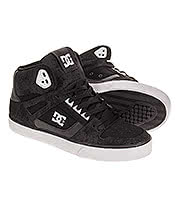 DC Shoes Spartan Hi WC Trainers (Black/White)