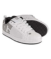 DC Shoes Court Graffik SE Trainers (White)