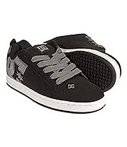 DC Shoes Court Graffik SE Trainers (Black/Gun Metal)