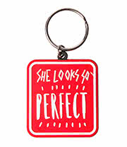 5 Seconds Of Summer Perfect Keyring
