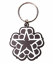 Black Veil Brides Star Keyring