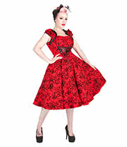 H&R Flock 9470R Dress (Red)