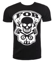 Fall Out Boy Gear Head T Shirt (Black)