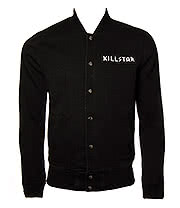 Kill Star Horny Denim Jacket (Black)