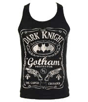 DC Comics Batman Gotham Bottle Vest (Black)