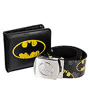 Batman Belt & Wallet Boxed Set