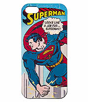 Superman Vintage iPhone 5 & 5s Phone Case