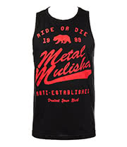 Metal Mulisha Neck Tank Top (Black)