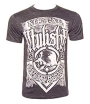 Metal Mulisha Scratched T Shirt (Grey)