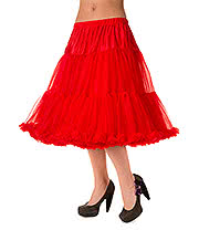 "Banned Lifeforms 26"" Petticoat (Red)"