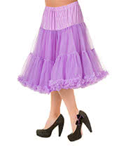 "Banned Lifeforms 26"" Petticoat (Lavender)"