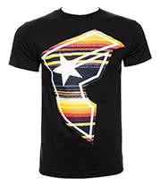 Famous Stars & Straps Serape Badge Of Honor T Shirt (Black)