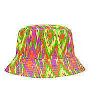 Blue Banana Canvas Festival Hat (Neon Yellow/Green)